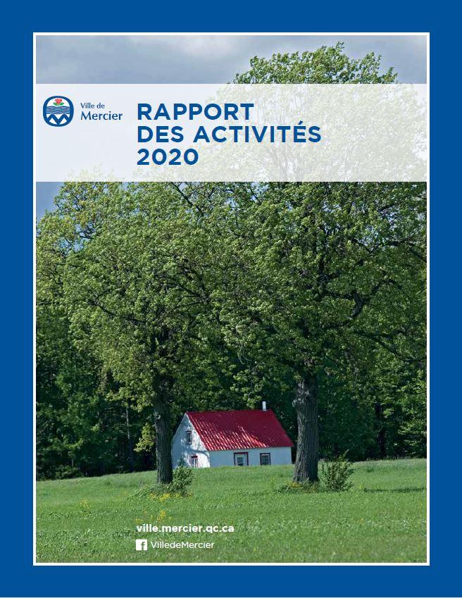 La Ville de Mercier publie son rapport des activités 2020